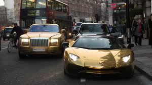 super rich saudi u0027s gold cars hit london cnn style