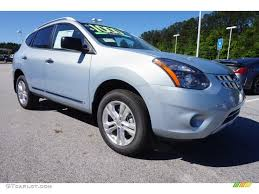 nissan rogue select 2014 frosted steel 2015 nissan rogue select s exterior photo 103600181
