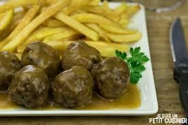 cuisiner des boulettes de viande recette de boulettes de viande la recette facile
