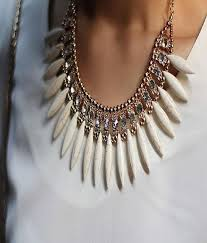 fashion jewelry statement necklace images Cinderella fashion jewelry stylish white statement necklace buy jpg