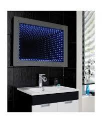 bathroom infinity mirror hudson reed lucio infinity mirror led
