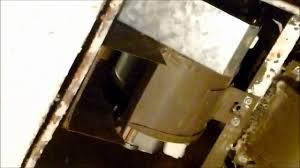 nutone model 9965 fan motor new heater fan motor in nutone h965 unit youtube