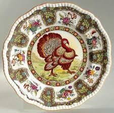spode thanksgiving orange trim at replacements ltd