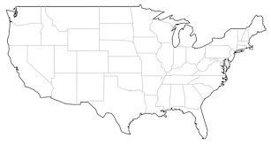 us map outline png free us map vector