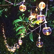 string lights u2013 sogrand 30 bulbs solar string lights warm white