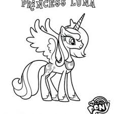 my little pony poster coloring page my little pony poster
