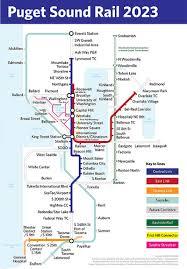 light rail map seattle seattle light rail plan map chicago map