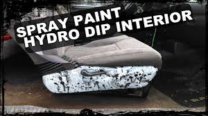 how to spray paint hydro dip interior pieces colossus build
