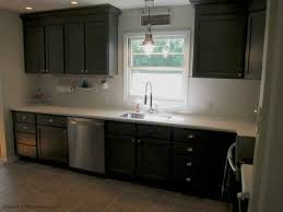 painting kitchen cabinets grey blue remodelaholic painted grey kitchen cabinets in a