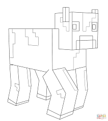 minecraft coloring free printable coloring pages