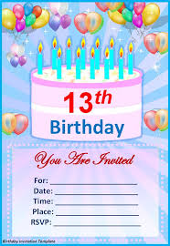 birthday invitation cards templates u2013 diabetesmang info