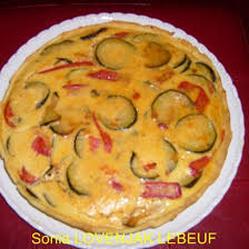 cuisiner le poivron recette tarte salée aux légumes courgettes poivron tomates