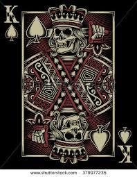 skull card calaveras cards