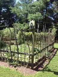 Ideas For Fencing In A Garden Vegetable Garden Fence Ideas Gardening Design