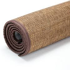 japanese floor bamboo carpet pad large rectangle 180x240cm