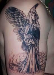 egyptian goddess tattoo design on back body photo 3 real photo