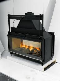 double sided gas fireplace insert home design ideas