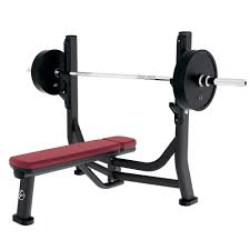 Bench Gym Equipment Signature Series Olympic Flat Bench Life Fitness Strength