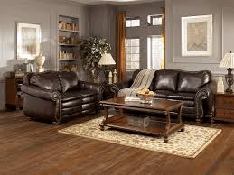 cream leather and wood sofa pictures of living rooms with brown furniture decorative animal