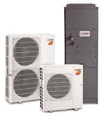 mitsubishi electric cooling and heating mitsubishi electric hvac systems for new constructions cottam