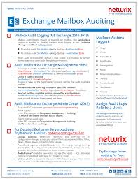 free guide for exchange mailbox auditing