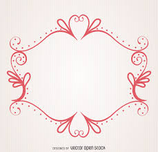 decorative ornamental frame vector