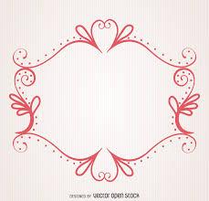 decorative ornamental frame vector