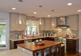 two tone cabinets in kitchen fabulous two tone kitchen cabinets with white and wood tone in