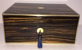 Vanity Box Coromandel Brass Bound Vanity Box C 1850 Mostly Boxes Antiques