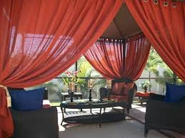 Outdoor Gazebo Curtains by Red Gazebo Curtains Outdoor Gazebo Curtains Gallery Xtend