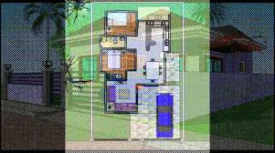 Floor Plans For Bungalow Houses Samantha Bungalow House Plan Blue Design Exterior Youtube