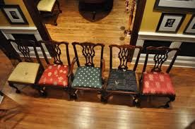 Upholstered Dining Room Chairs by Varnished Wooden Dining Chairs With Assorted Color Upholstered
