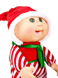 amazon com cabbage patch kids cuties doll 9 inch holiday helpers