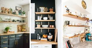 open kitchen cabinets 18 best open kitchen shelf ideas and designs for 2021