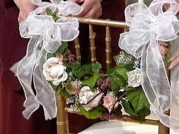 bridal chair swag diy