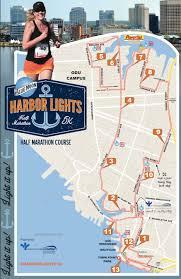 harbor lights half marathon run jenny run inaugural harbor lights half marathon recap