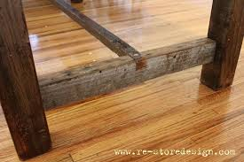 best wood for farmhouse table amazing ana white reclaimed wood farm table diy projects pertaining