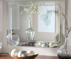 decorative mirrors dining room decorative wall mirrors for bathrooms in flossy round oval