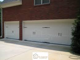 Decorative Garage Door Backyards Garage Door Hardware Tuscany Closed Arched Tops