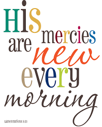 biblical gifts his mercies are new scripture biblical wall decor
