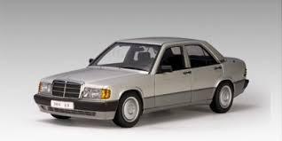 1990 mercedes 190e autoart 1990 mercedes 190e 2 0l brillantsilver metallic