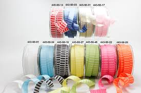 wired ribbon wholesale 5 8 inch woven chevron stripes wired ribbon may arts wholesale