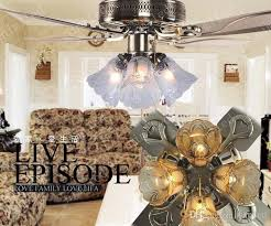 Bronze Ceiling Light Online Cheap Led Ceiling Fan Crystal Chandelier Bronze Iron Fan