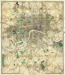 London Maps Stanford U0027s Library Map Of London And Its Suburbs 1872
