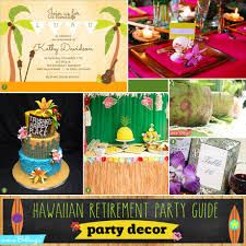 Hawaiian Retirement Party Guide
