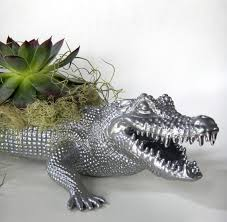 animal planter whimsical planters inspired by exotic wildlife