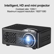 rd 814 portable led projector home cinema theater 1080p black