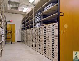blueprint flat file cabinet rolled blueprint storage shelving flat file cabinets library storage