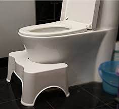 Bathroom Toilet Stool Home Toilet Footstool NoSlip Toilet Step - Bathroom step