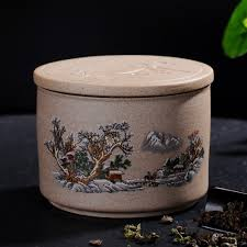popular pottery canisters buy cheap pottery canisters lots from retro crude pottery tea caddy chinese kungfu teaset accessory ceramic tea jar tea boxes sealed cans
